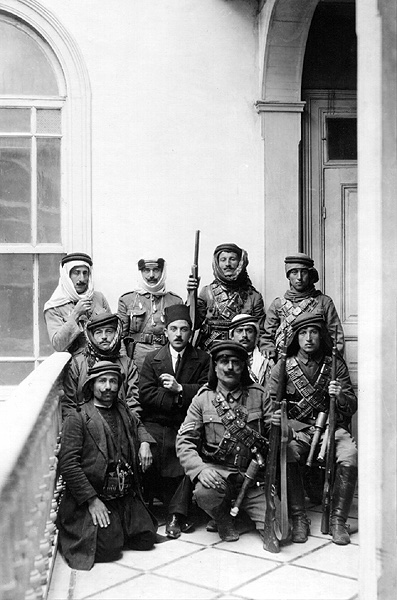 Druze Police 1920 by Kelsey