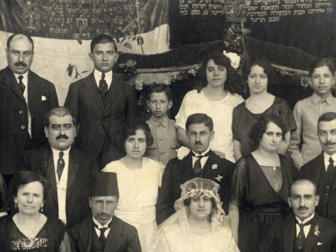 Aleppo Jewish wedding in 1914