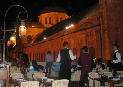 Leila's Restaurant Next to Umayyad Mosque